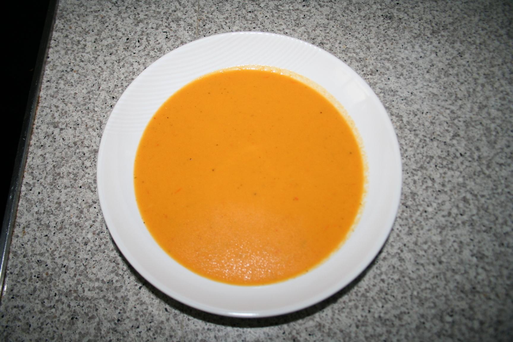 kryddig tomatsoppa