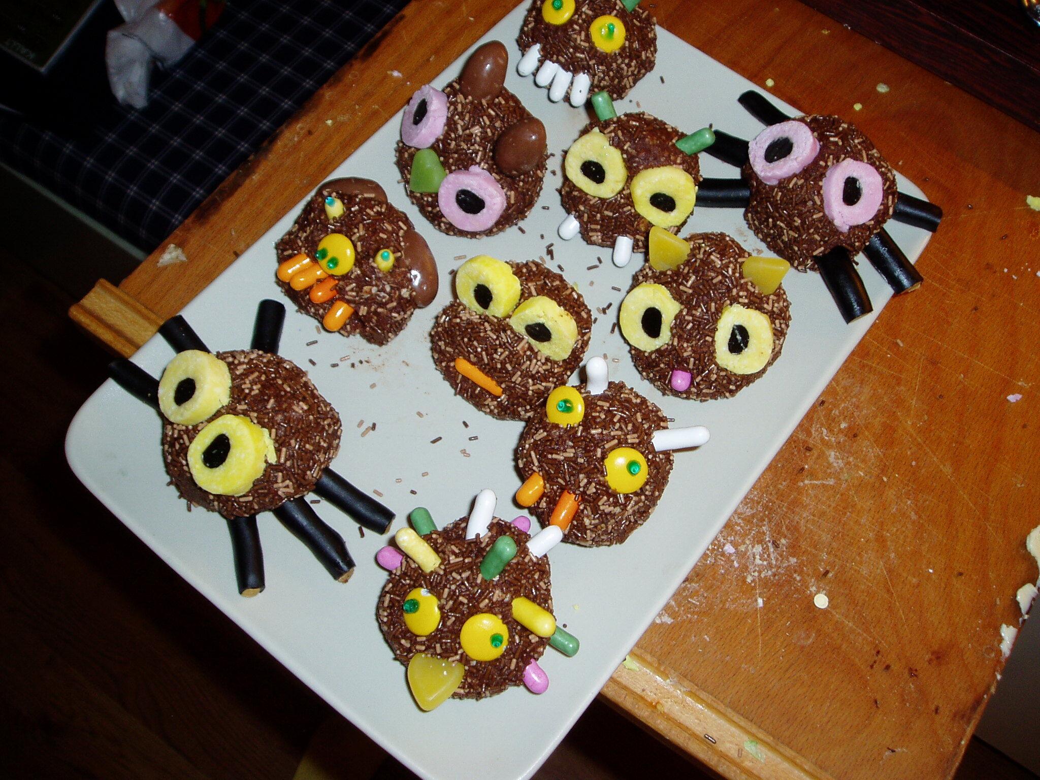 chokladbräck med lakrits