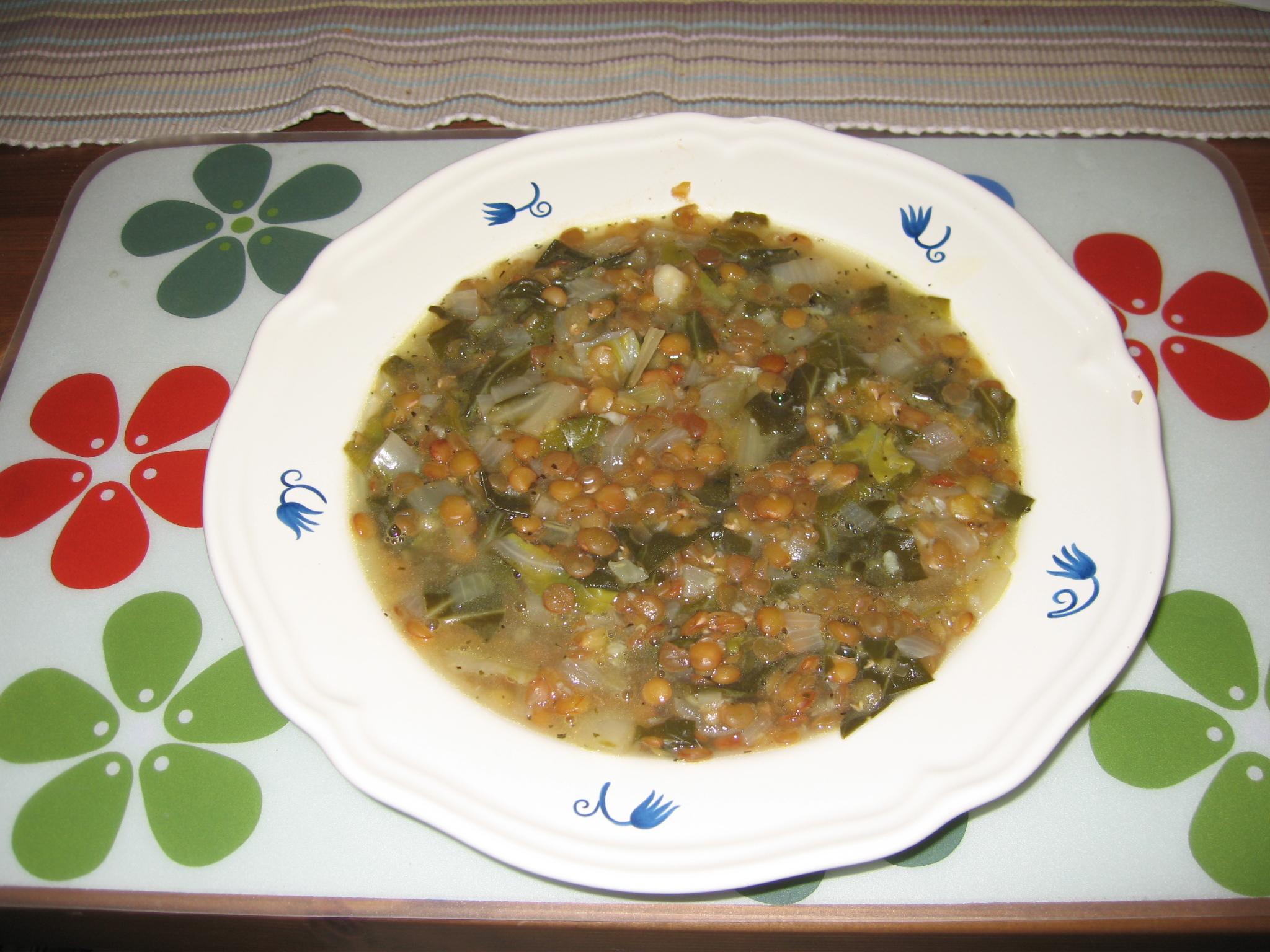 Mangold soppa