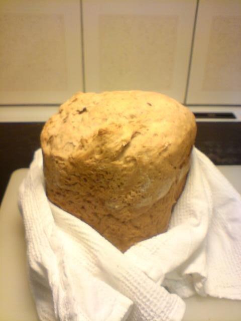 lingonbröd med torrjäst