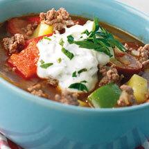 gulaschsoppa köttfärs chorizo