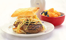 The Crabba Haba Beef Burger