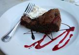 Kladdkaka med smak av mintchoklad
