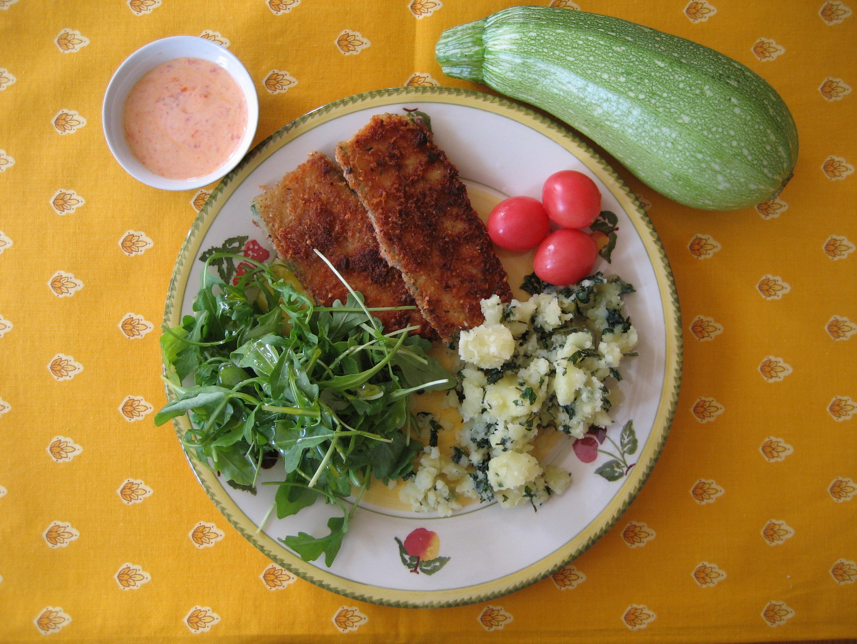 moussaka med potatis och squash