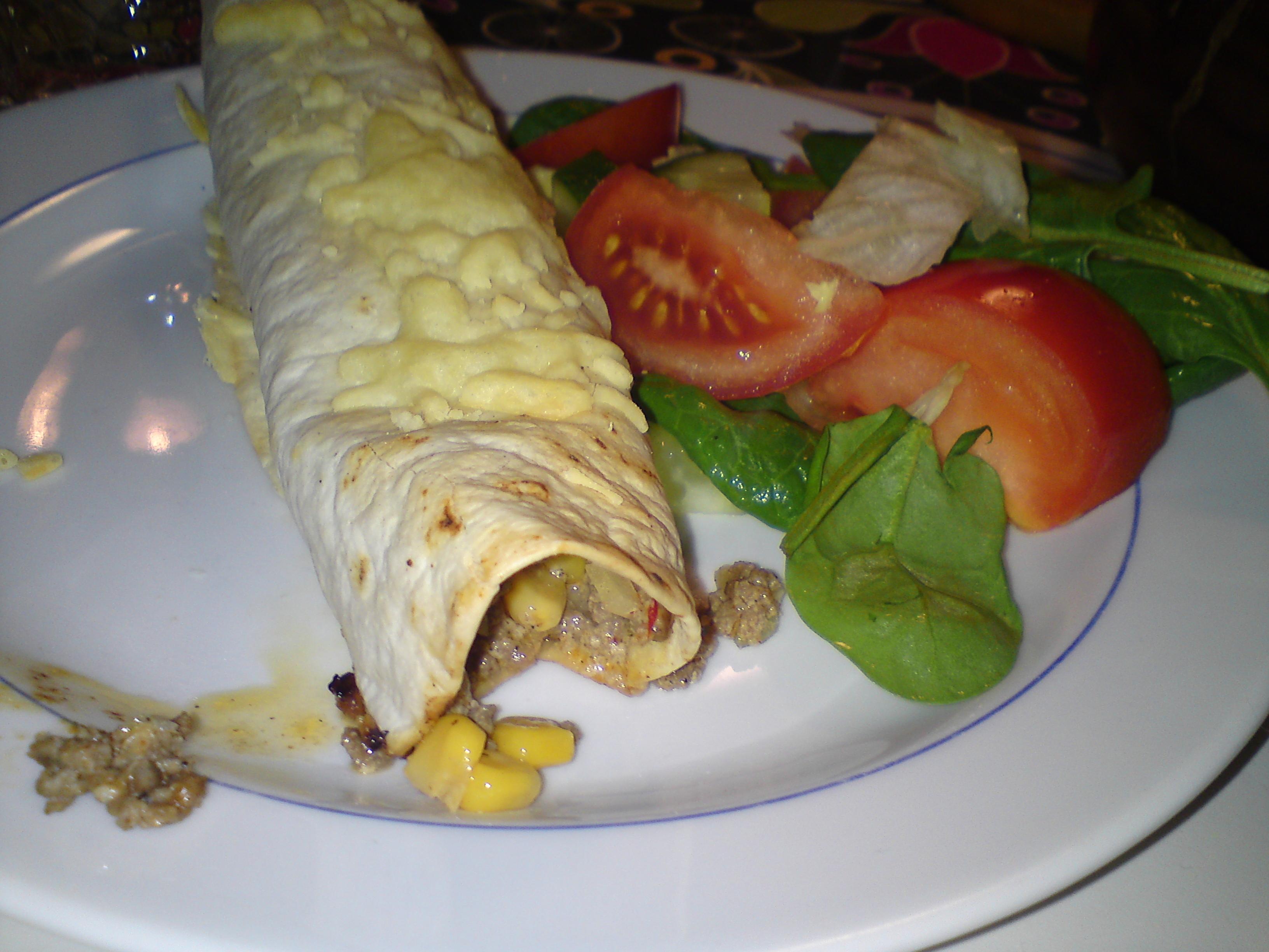 burrito kryddblandning