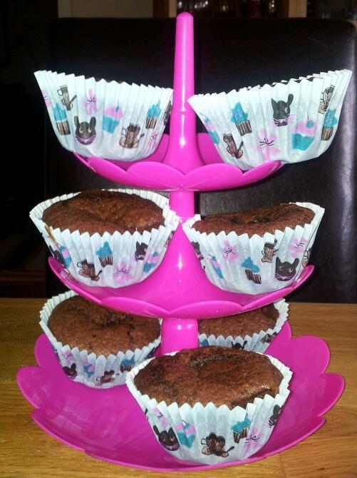 Snabba Chokladmuffins