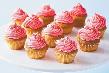 jordgubbs cupcake