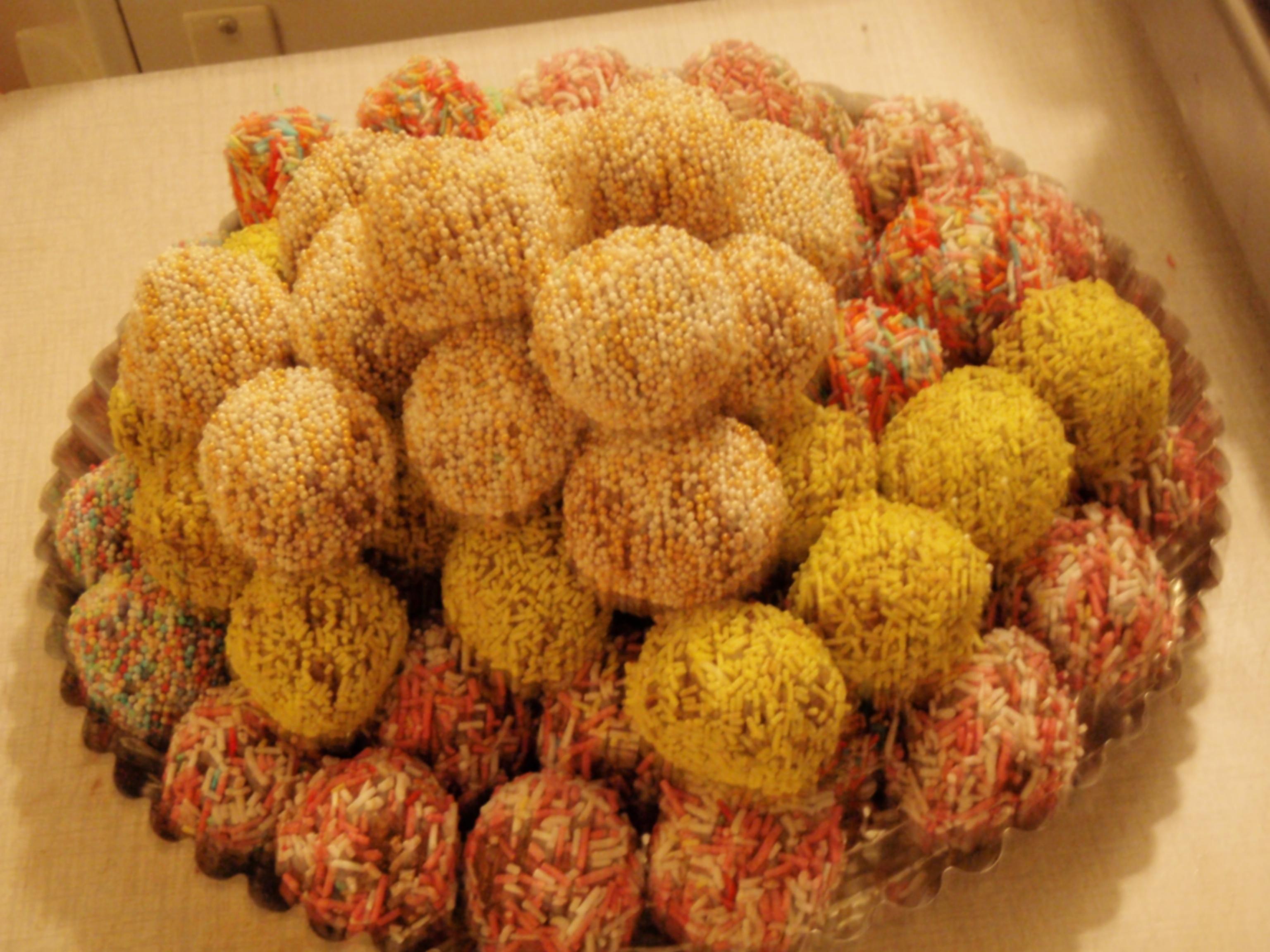 Bananchokladbollar