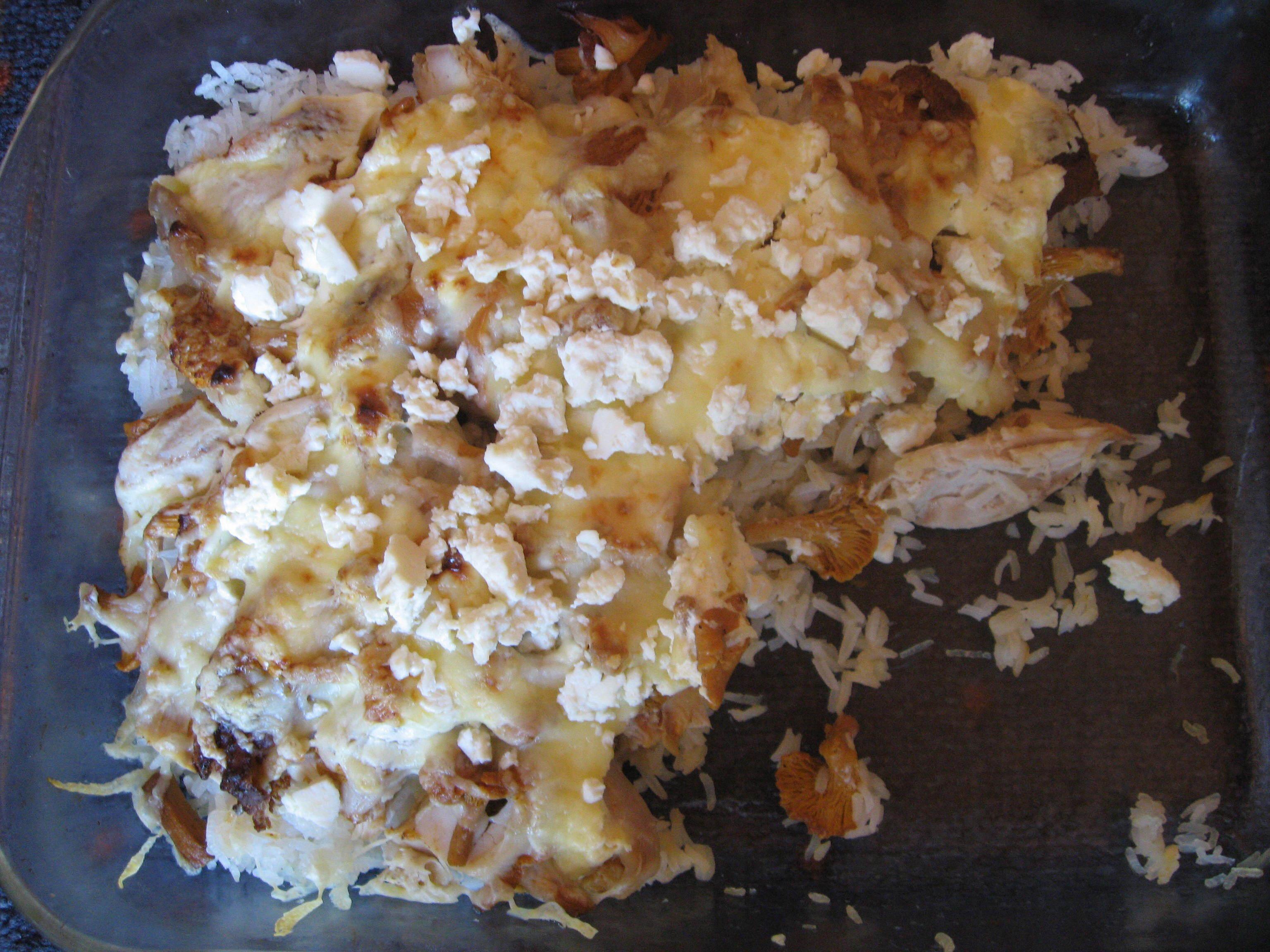 Lisas svamp- och kycklinglåda