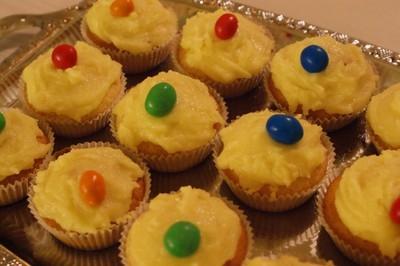 Citroncupcakes