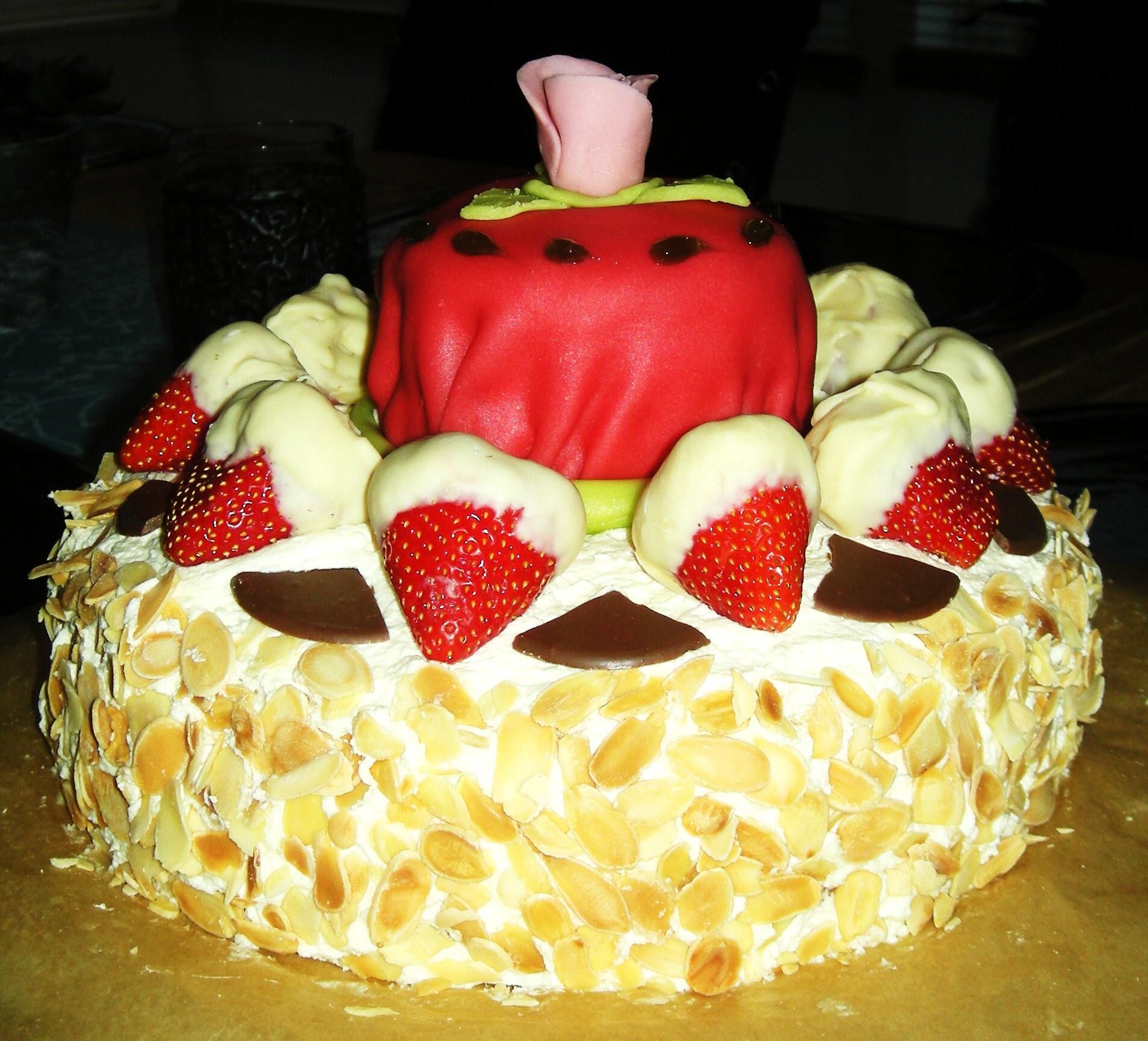 Vanilj- jordgub..