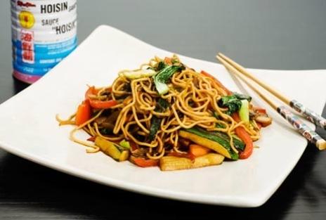 enkel woksås soja vitlök