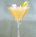Apple mint martini