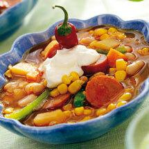 Tex mex soppa