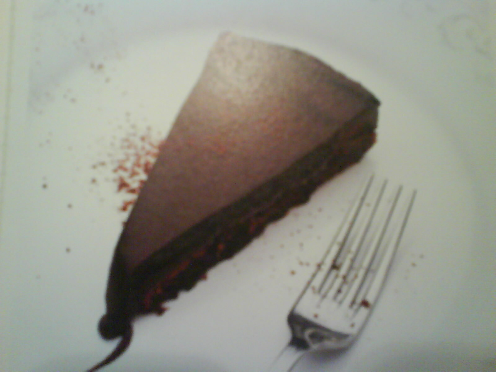 kladdkaka ljus choklad