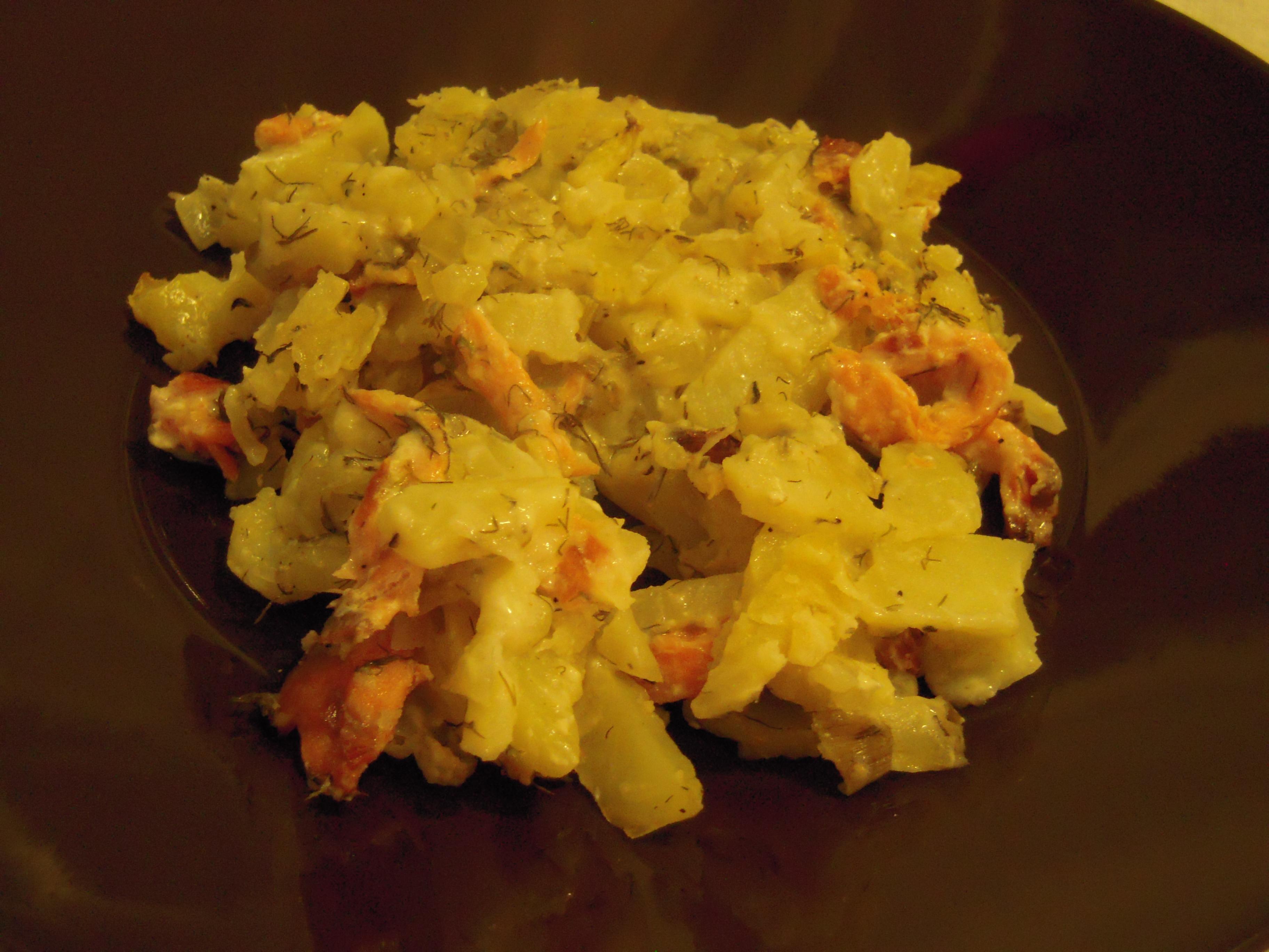 Potatis-Laxlåda..