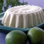 limeparfait med vaniljrabarber