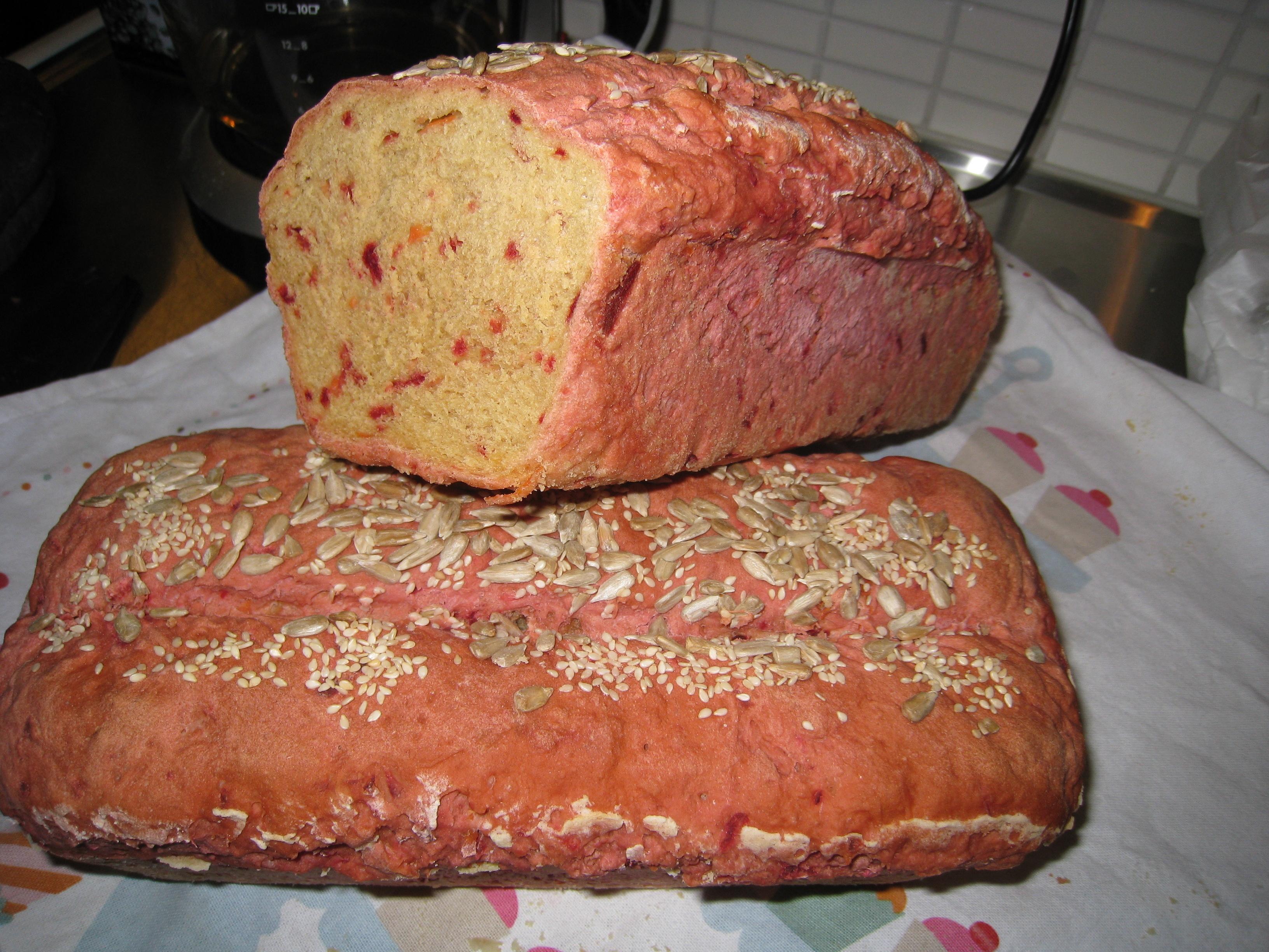 Morotsbröd i form (formbröd)