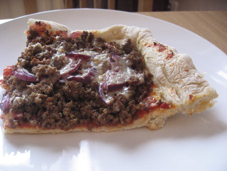 Mexikansk köttfärspizza