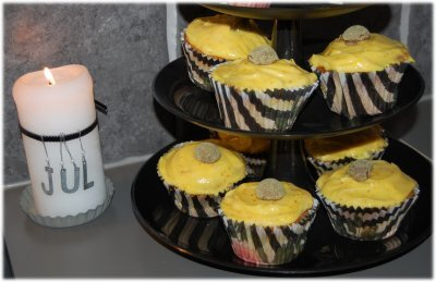 Saffrans cup cakes