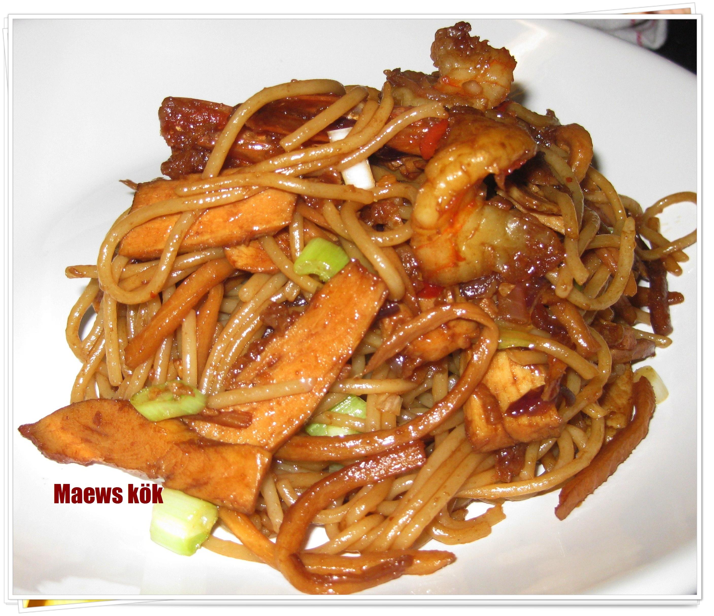 Spaghetti med r..