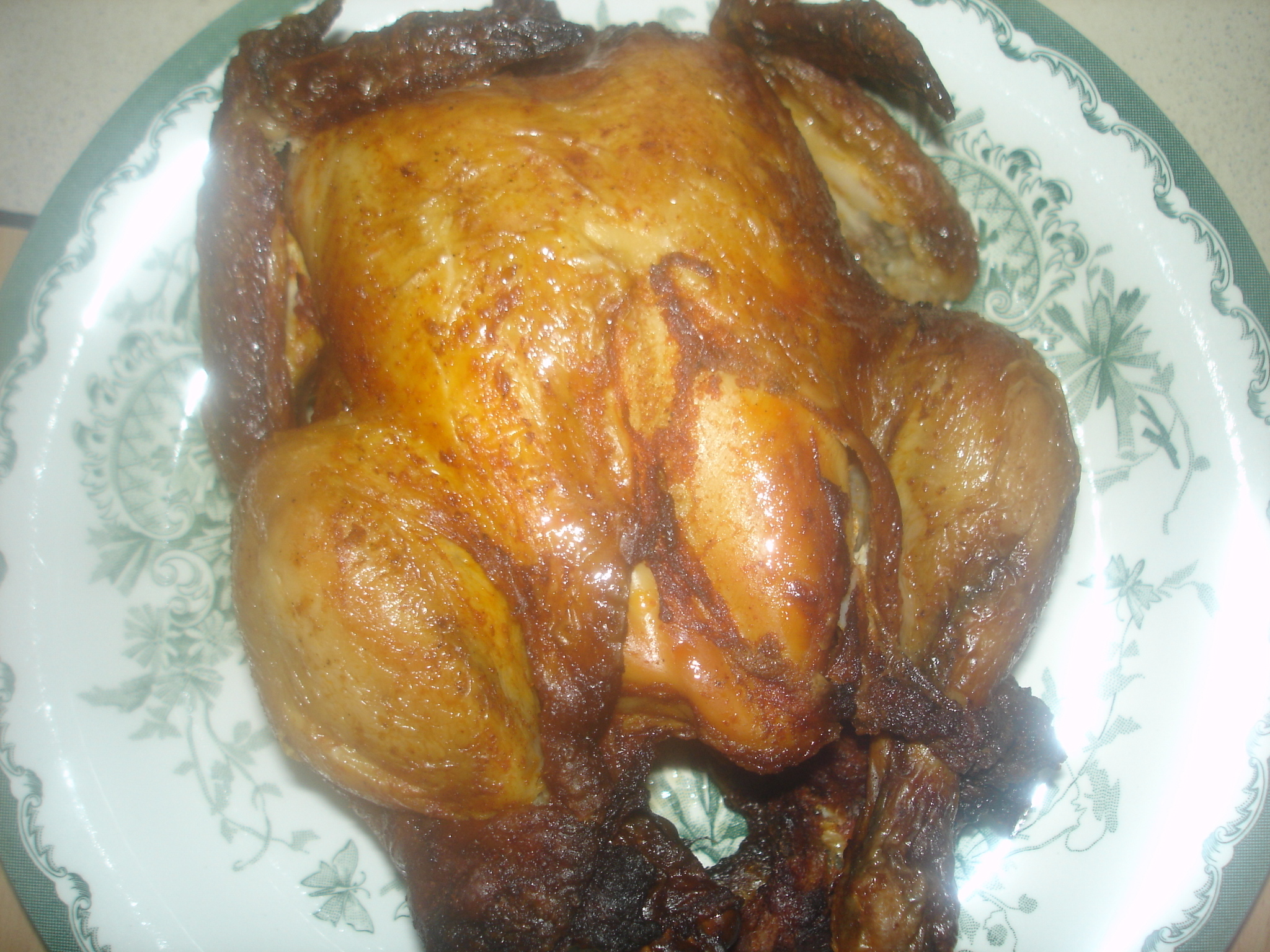 Stekt kyckling ..