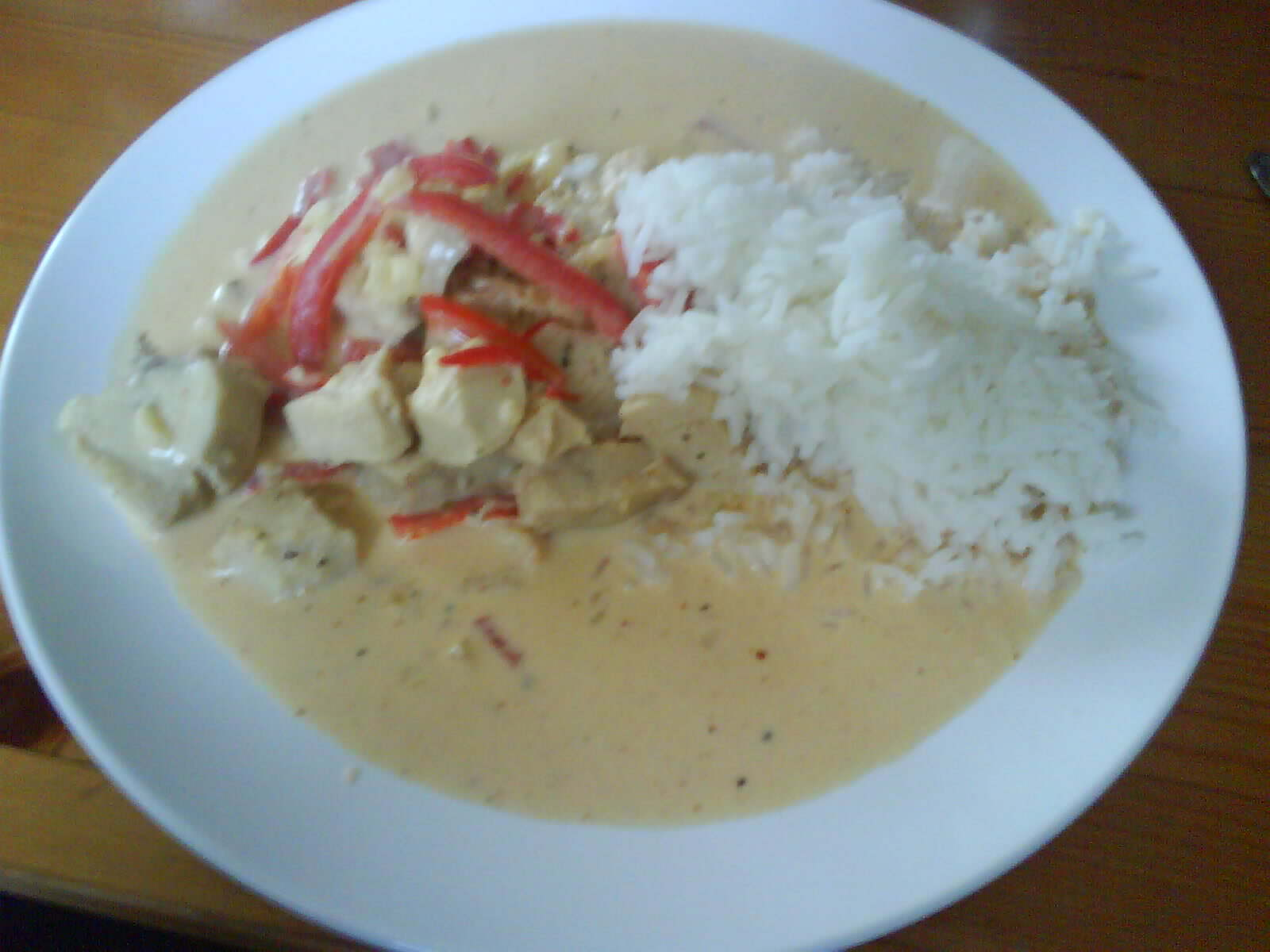 Thai chicken gr..