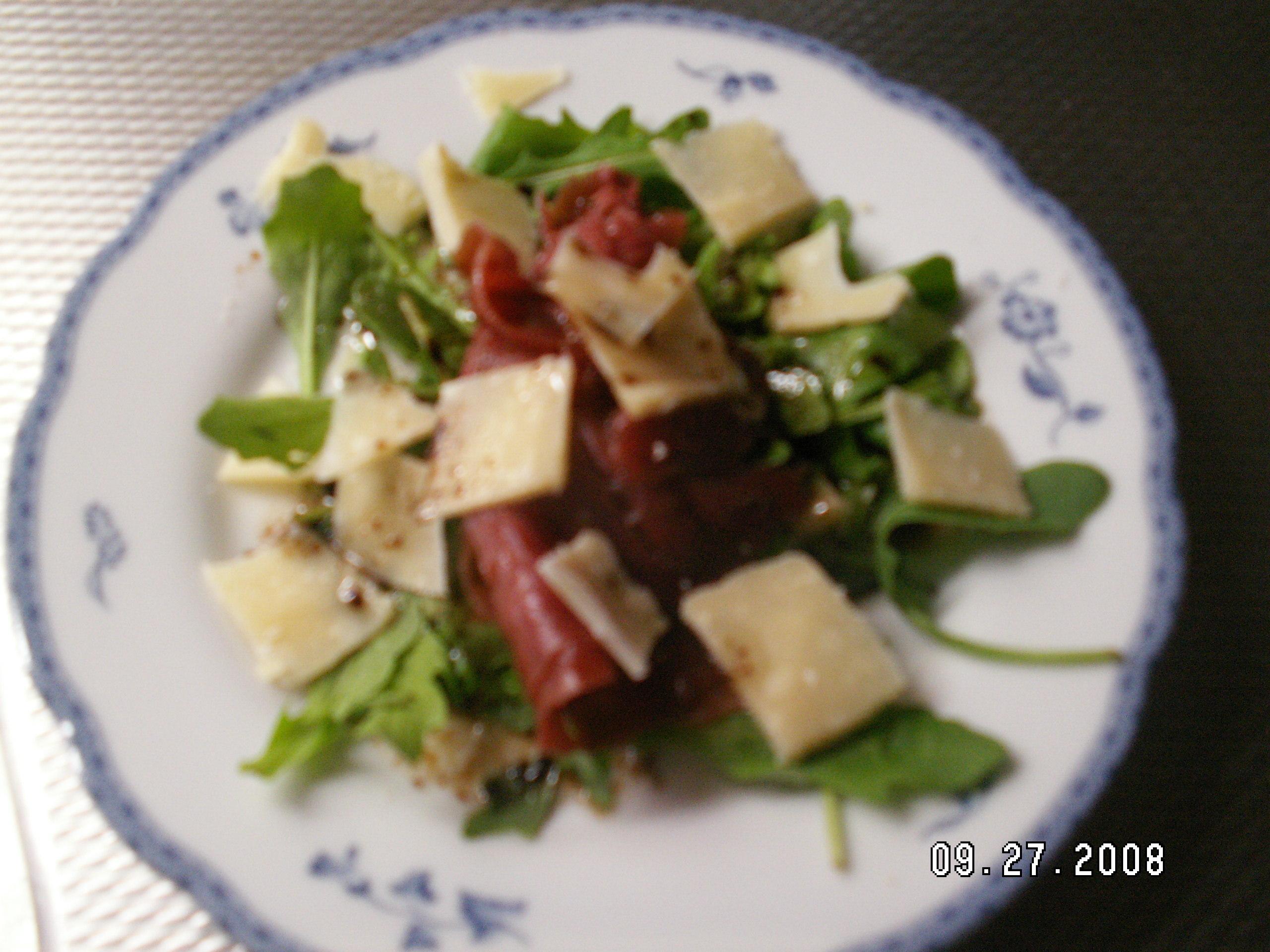 bresaola sallad