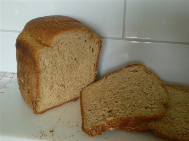 baka bröd i bakmaskin