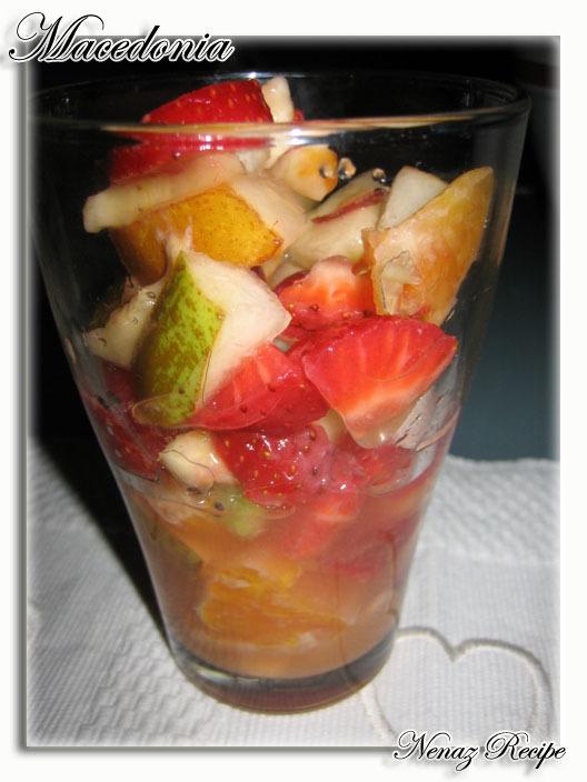gott att ha till fruktsallad