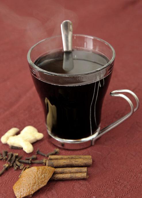 juice på druvor