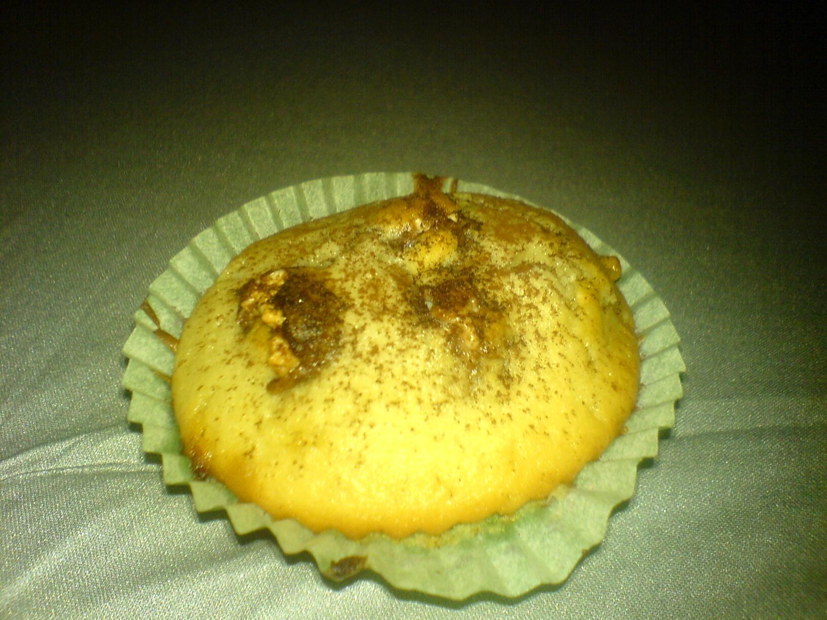 Vita chokladmuffins med Polly