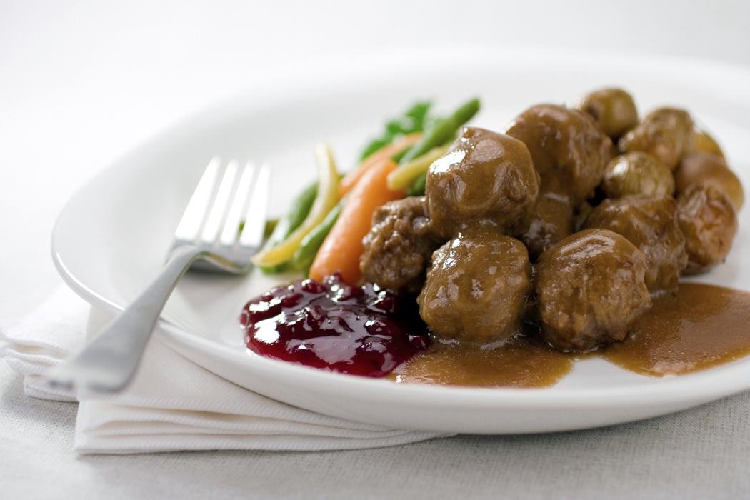 äta kall köttfärslimpa