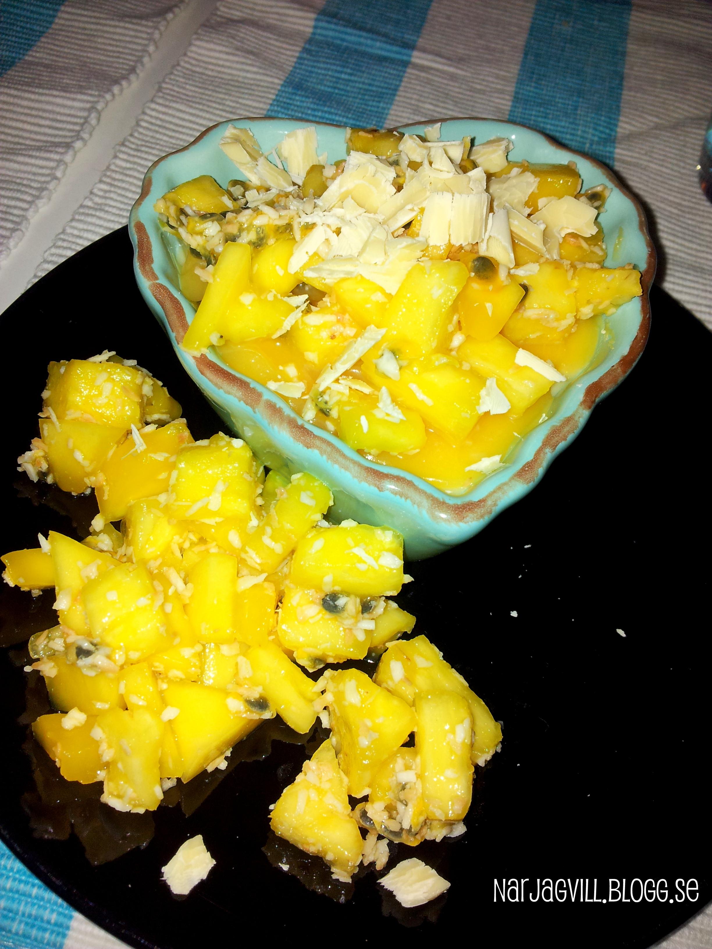 ananas pannacotta