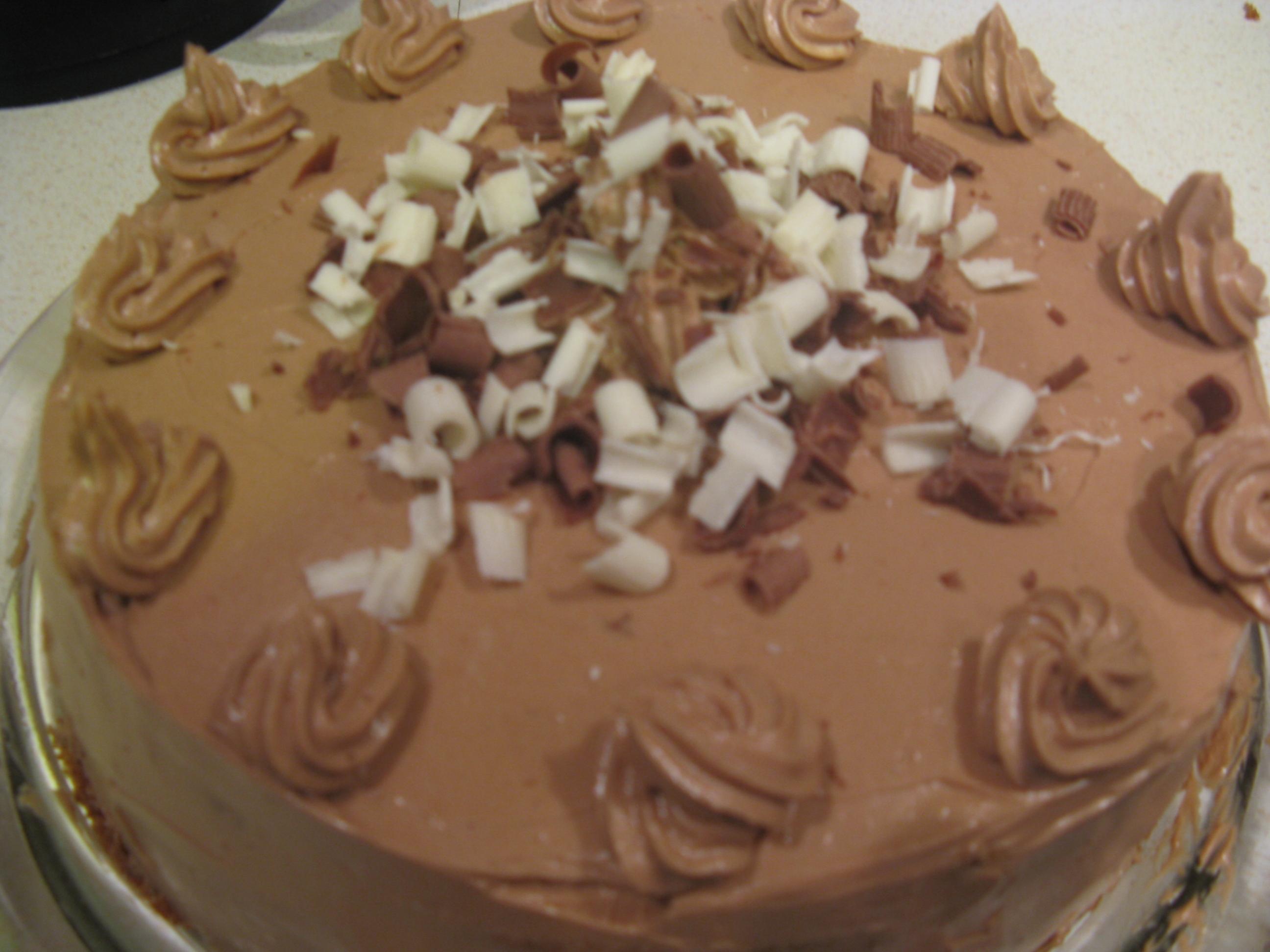 Tårta med chokl..