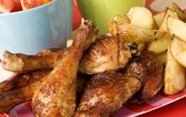 Kycklingklubbor..