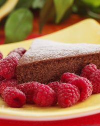Sockerfri och mager Chokladkaka