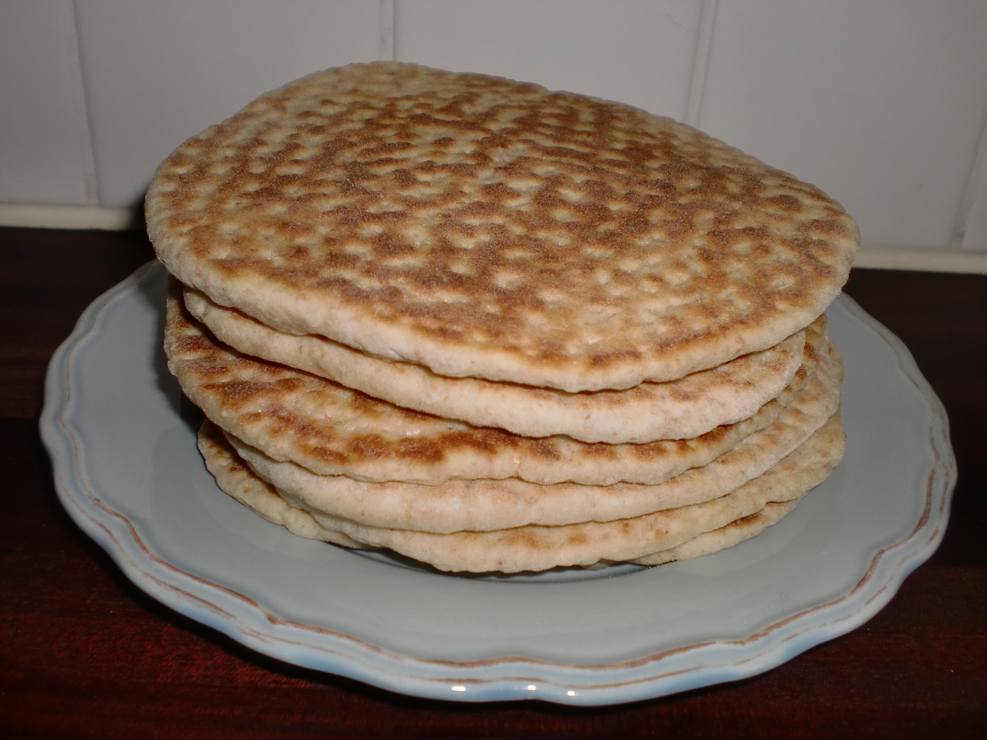 Traditionell mjukkaka - i stekpanna
