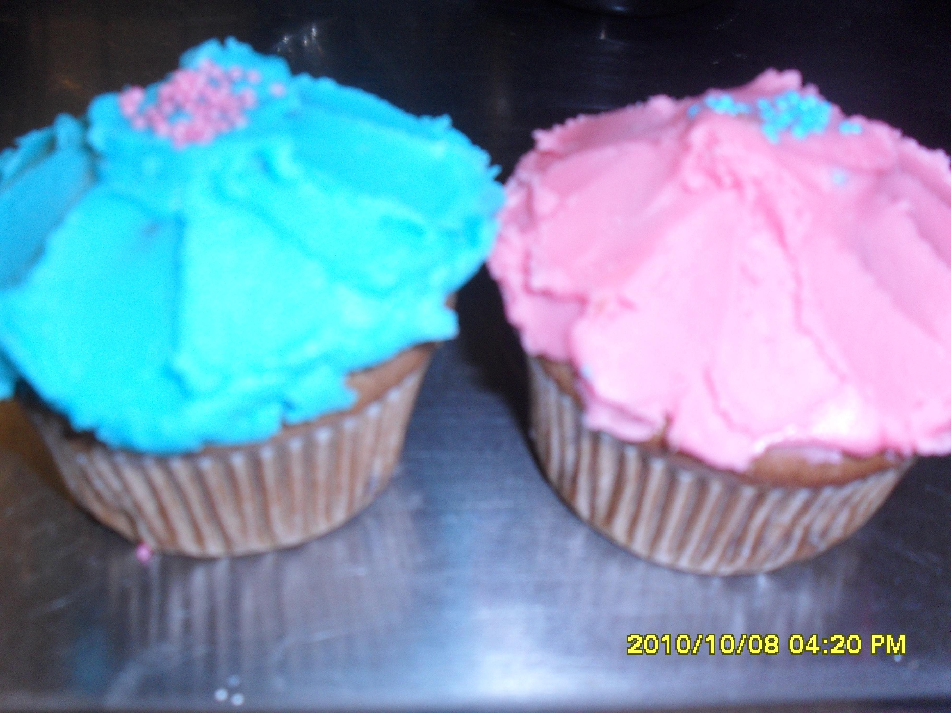Cupcakes med fä..