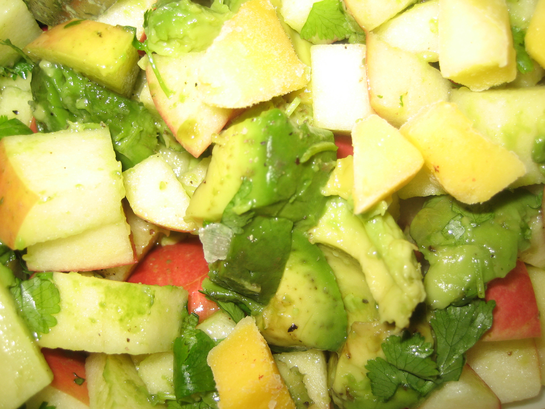 mango -avokadosalsa
