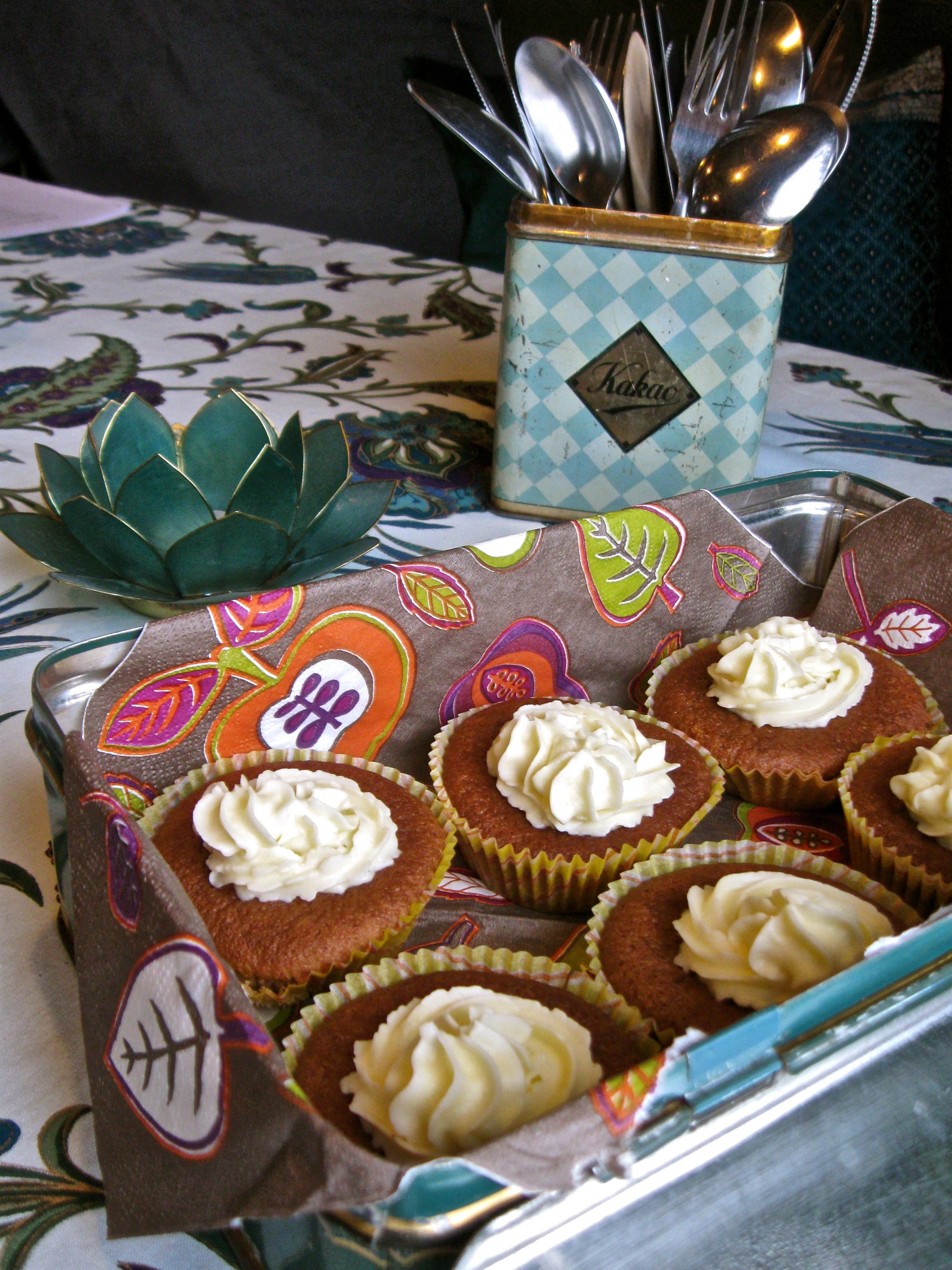 morotsmuffins med choklad
