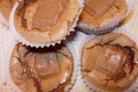 Kladdkaksmuffins med choklad