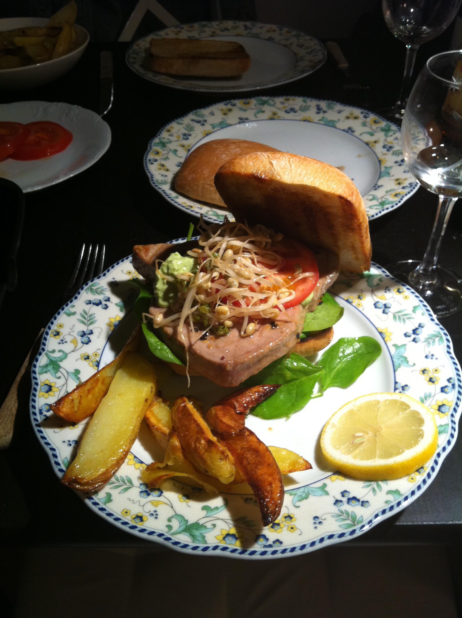 tonfisk sesam soja