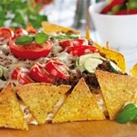 gratinerade nachos
