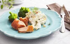 broccoli potatissallad