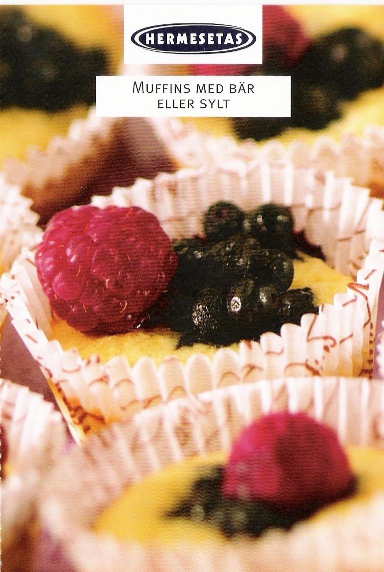 Muffins med bär..
