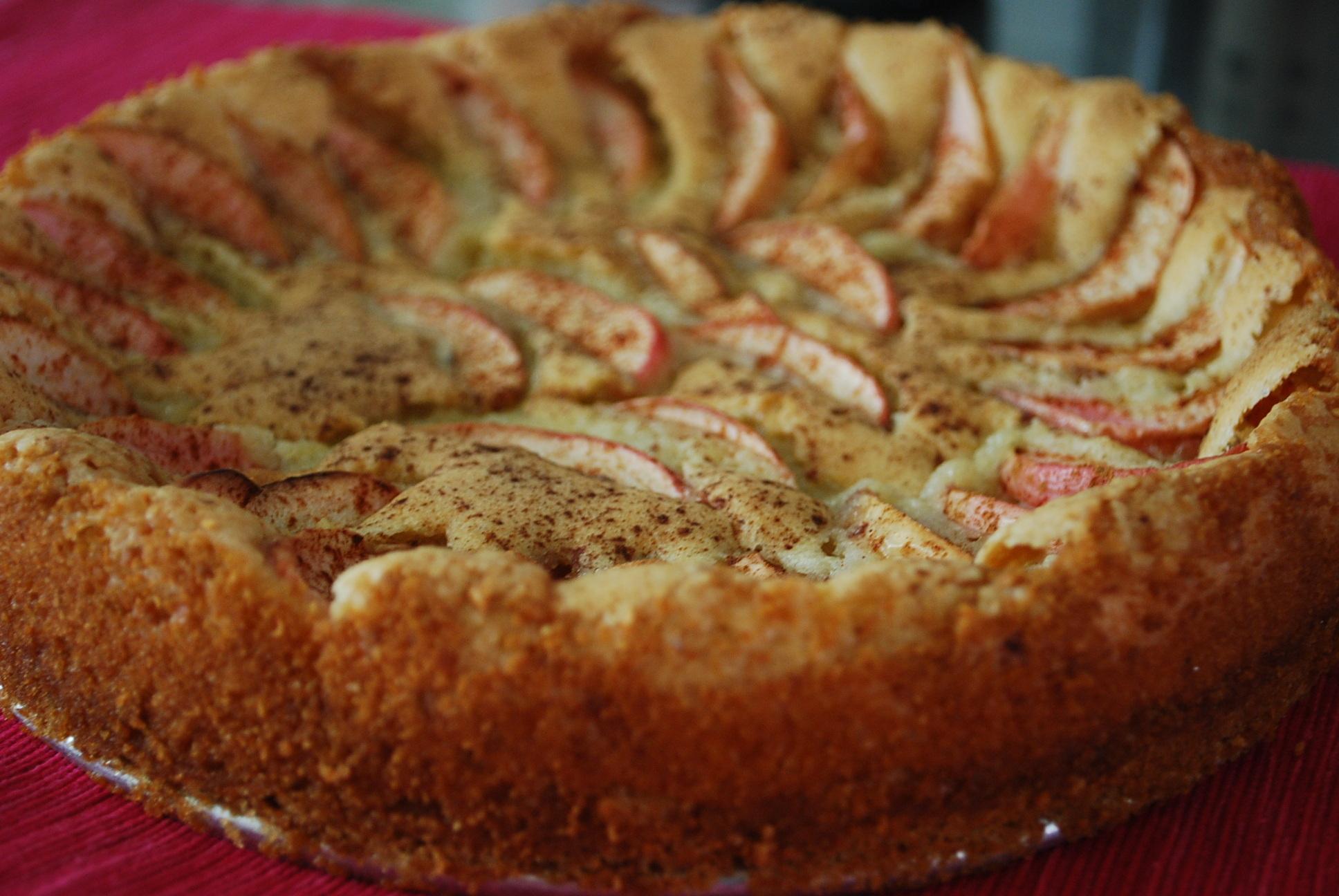 Godaste äppelkakan