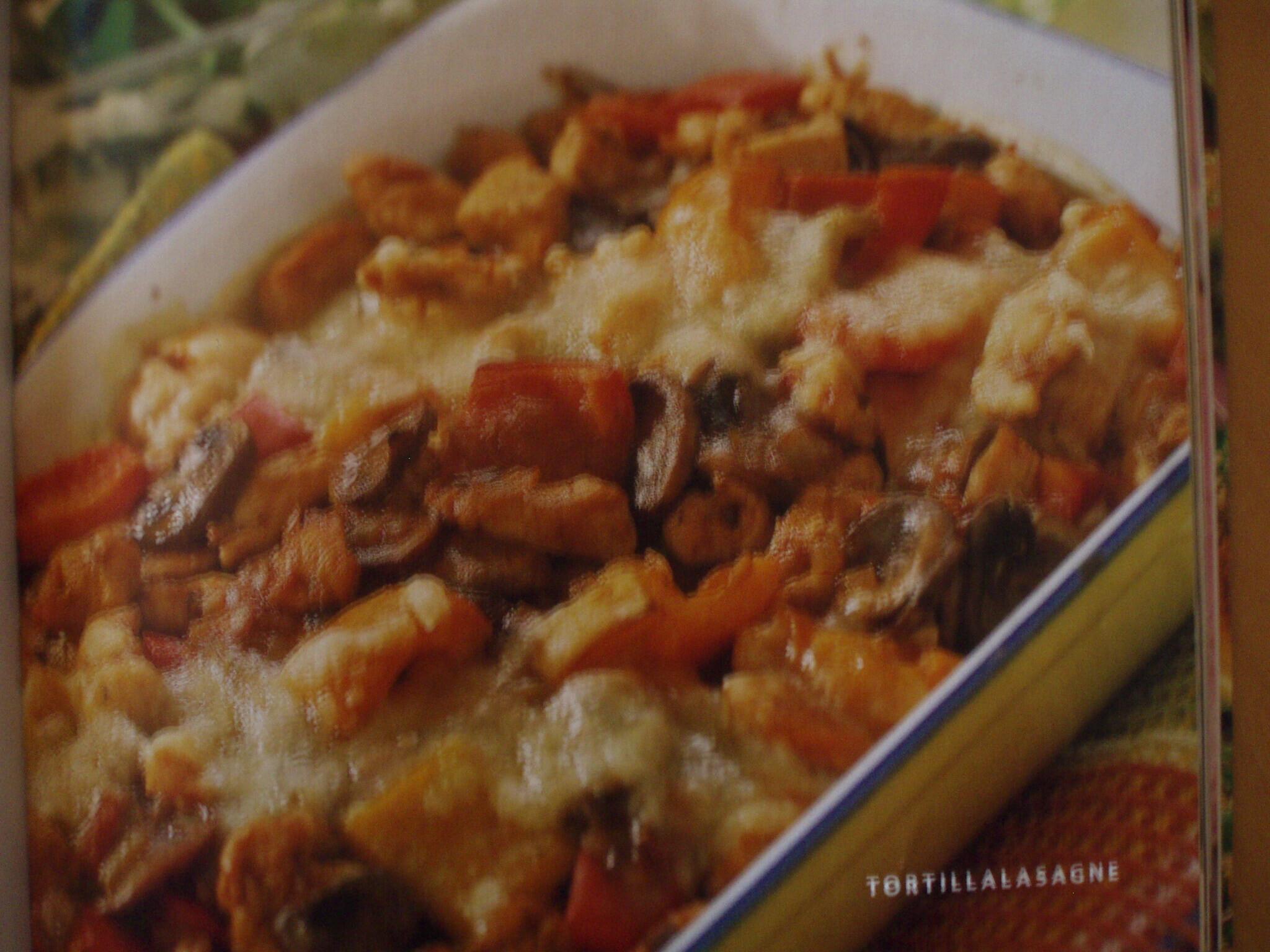 Tortillalasagne