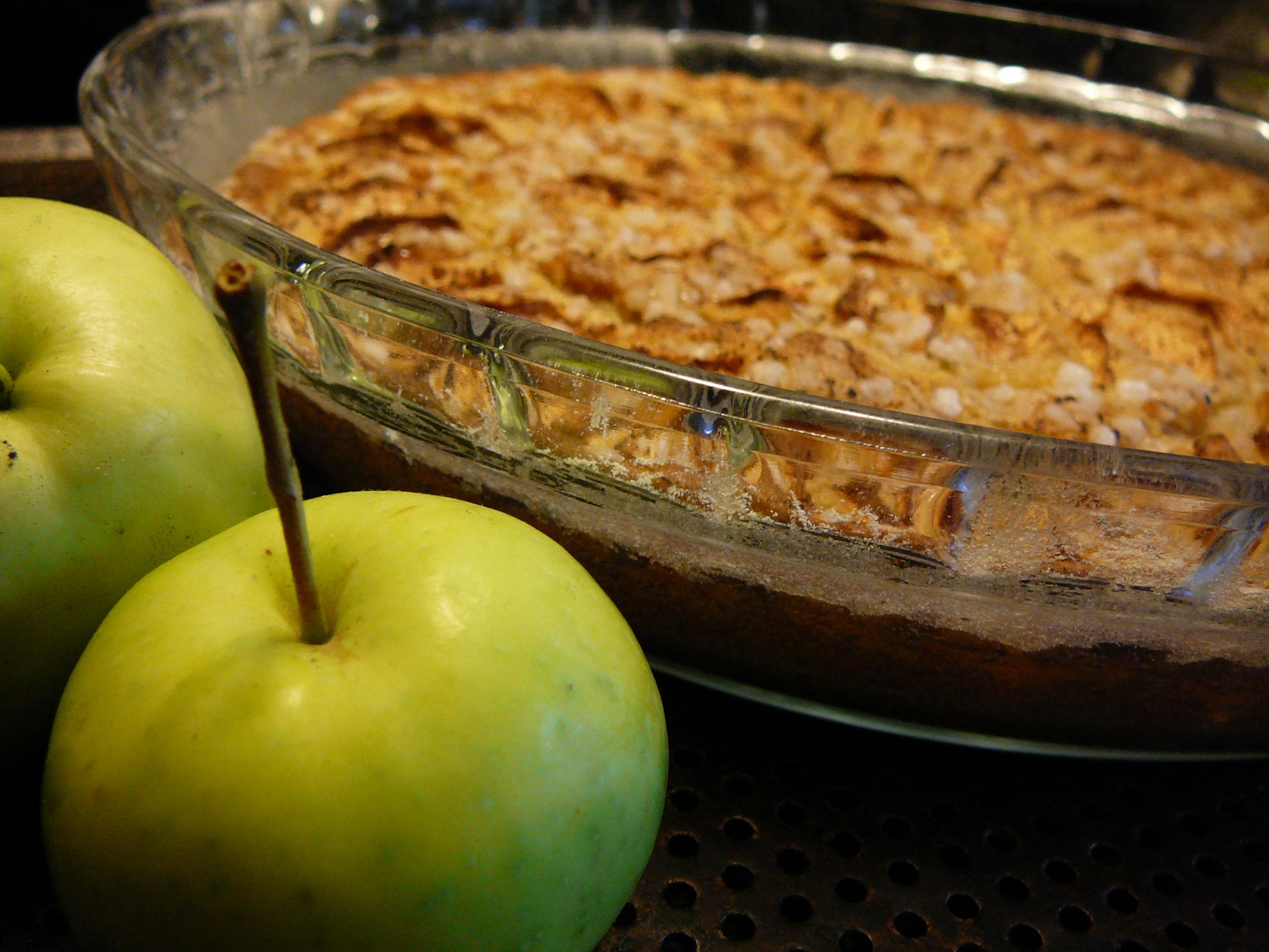 Äppelkaka från ..