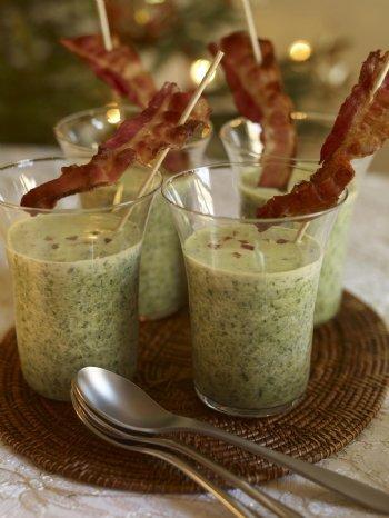 Grönkålssoppa med bacon